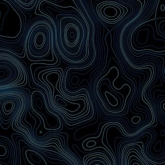 Fundo abstrato com linhas topográficas