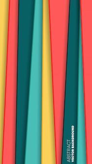Fundo abstrato com listras coloridas