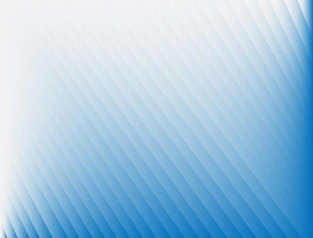 Fundo abstrato com listras transversais nos cantos e gradiente de cor azul