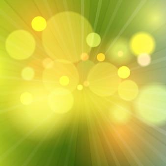 Fundo abstrato com luzes bokeh desenfreadas