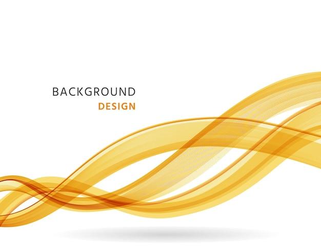Fundo abstrato com ondas. impressão ondulada e fluida. ilustração vetorial.