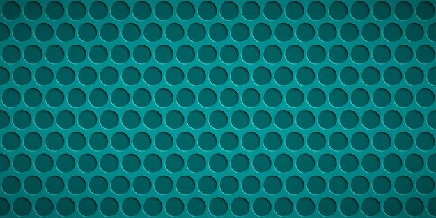 Fundo abstrato com orifícios circulares em cores azuis claras