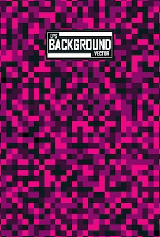 Fundo abstrato com padrão de pixel