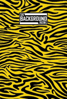 Fundo abstrato com padrão de tigre