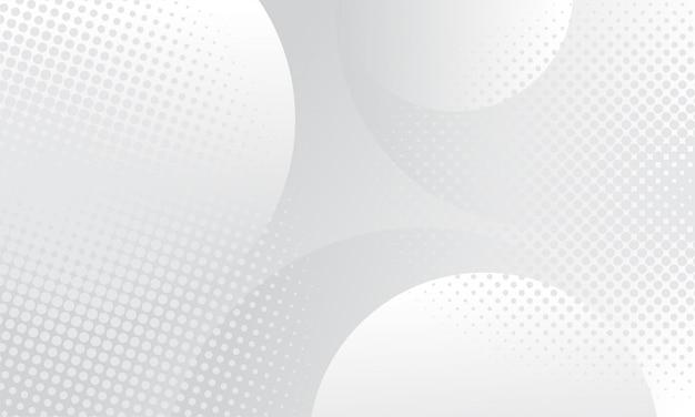 Fundo abstrato com pontos de meio-tom. cinza e branco