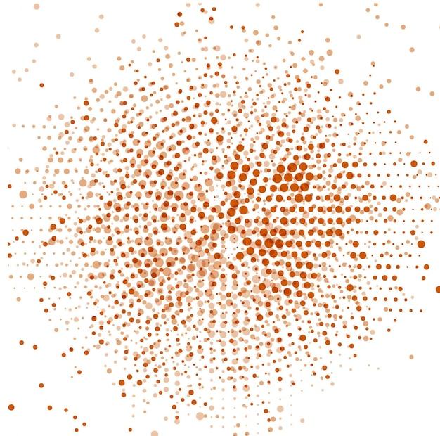 Fundo abstrato com pontos de retícula marrom