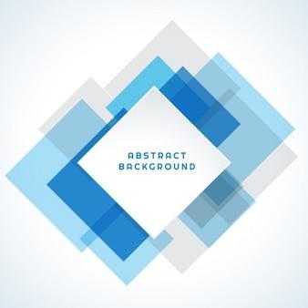 Fundo abstrato com quadrados azuis e cinzentos