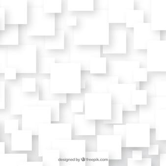 Fundo abstrato com quadrados brancos