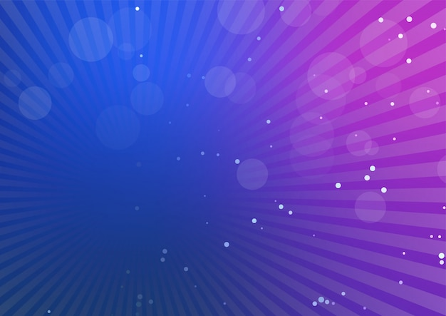 Fundo abstrato com raios de luz