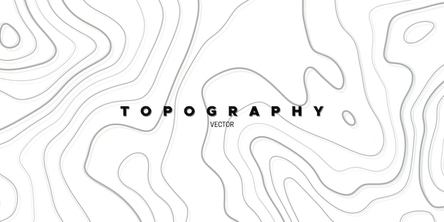 Fundo abstrato com relevo topográfico