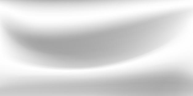 Fundo abstrato com superfície ondulada nas cores branco e cinza