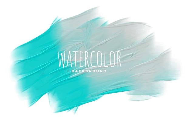 Fundo abstrato com textura aquarela pastel azul e cinza Vetor grátis