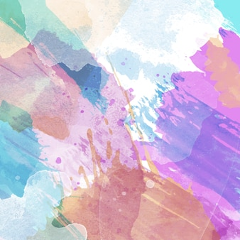 Fundo abstrato com textura aquarela