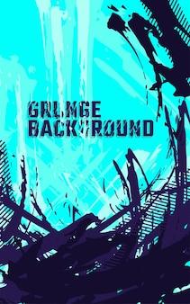 Fundo abstrato com textura grunge