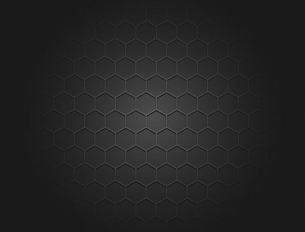 Fundo abstrato com textura hexagonal semelhante a um favo de mel