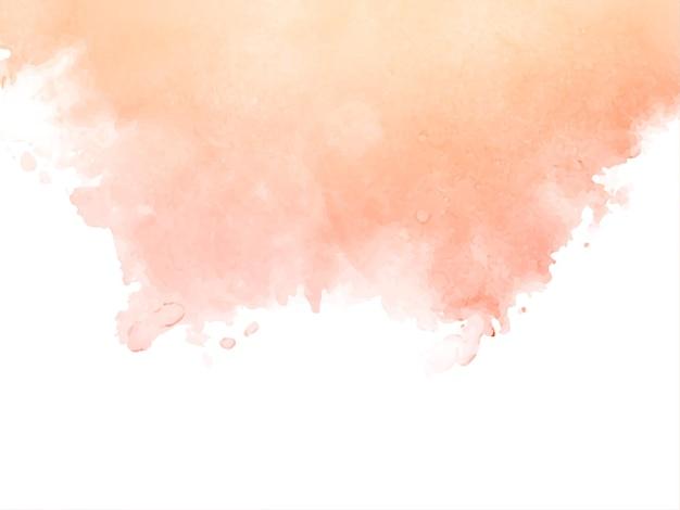 Fundo abstrato com textura suave de aquarela