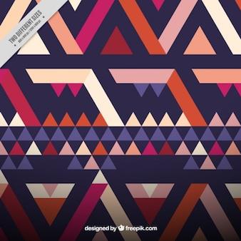 Fundo abstrato com triângulos