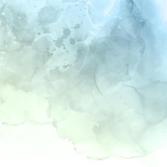 Fundo abstrato com um design de textura aquarela abstrata em pastel pintado à mão