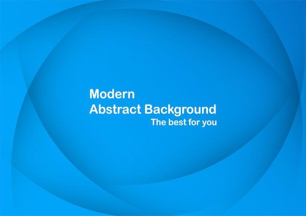Fundo abstrato curva azul