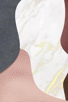 Fundo abstrato da colagem da textura