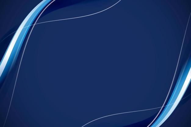 Fundo abstrato da curva azul