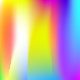 Fundo abstrato da malha de gradiente. cenário holográfico mínimo com malha de gradiente. estilo retro dos anos 90, 80. modelo gráfico perolado para brochura, folheto, design de cartaz, papel de parede, tela do celular.