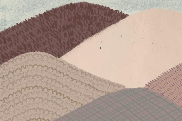 Fundo abstrato da montanha
