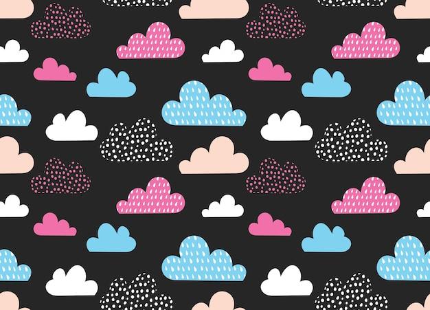 Fundo abstrato da nuvem