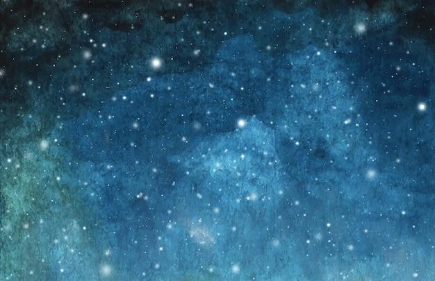 Fundo abstrato da pintura da galáxia