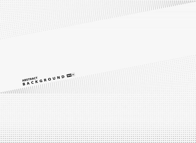 Fundo abstrato da tecnologia da tampa da decoração do projeto do teste padrão de ponto de mocern.