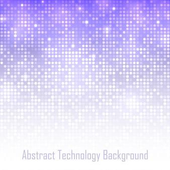Fundo abstrato da tecnologia violeta, ilustração
