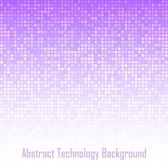 Fundo abstrato da tecnologia violeta