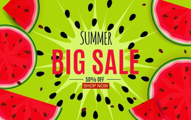 Fundo abstrato da venda do verão.