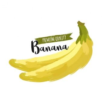 Fundo abstrato de bananas