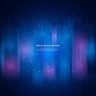 Fundo abstrato de big data