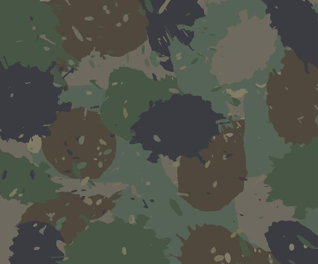Fundo abstrato de camuflagem com salpicos