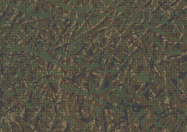 Fundo abstrato de camuflagem grunge