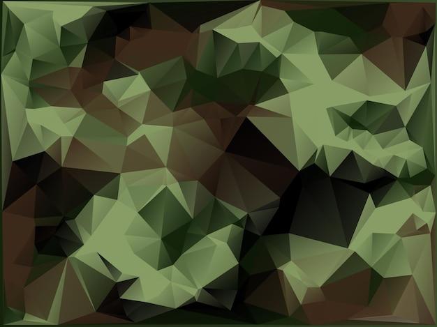 Fundo abstrato de camuflagem militar