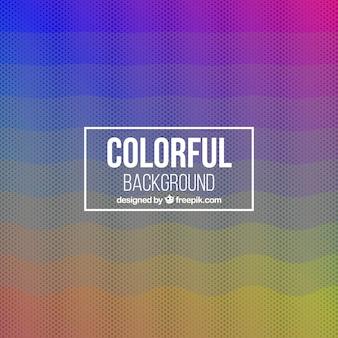 Fundo abstrato de cores e meio-tom