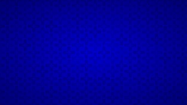 Fundo abstrato de cruzes em tons de azul