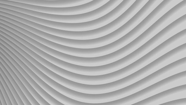 Fundo abstrato de curvas de gradiente em cores cinza
