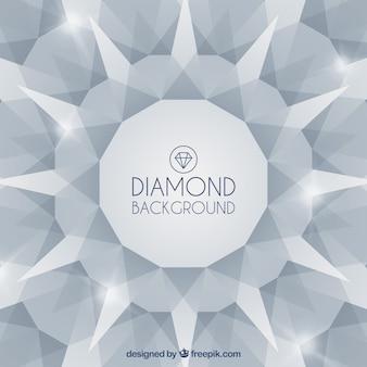 Fundo abstrato de diamantes