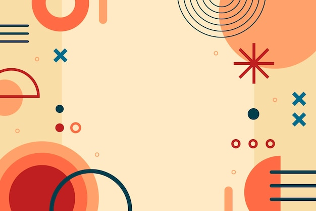 Fundo abstrato de estilo simples