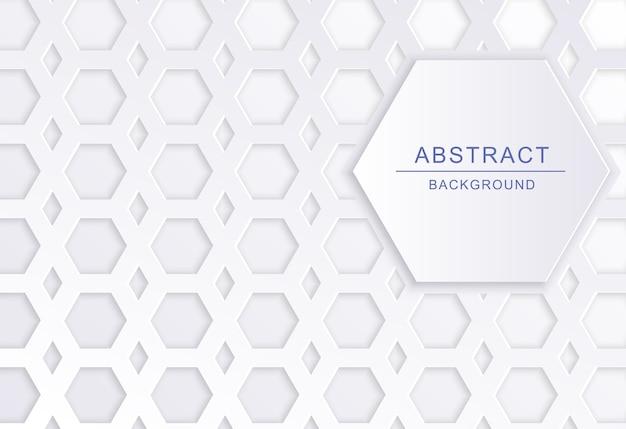 Fundo abstrato de formas geométricas Vetor Premium