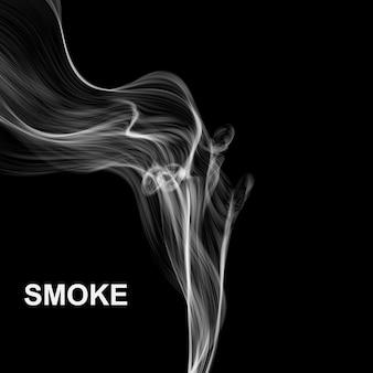 Fundo abstrato de fumaça.