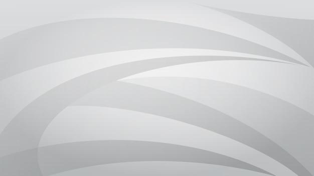 Fundo abstrato de linhas curvas em cores cinza