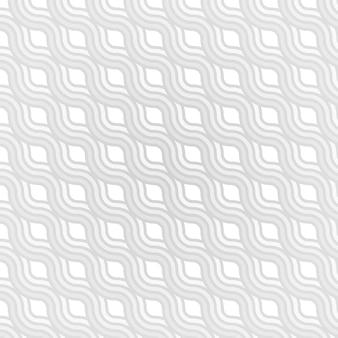 Fundo abstrato de linhas onduladas em tons de cinza
