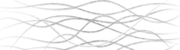 Fundo abstrato de linhas onduladas entrelaçadas, cinza e branco