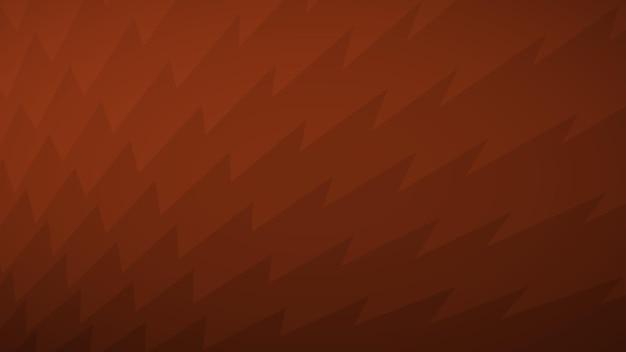Fundo abstrato de linhas quebradas em tons de marrom