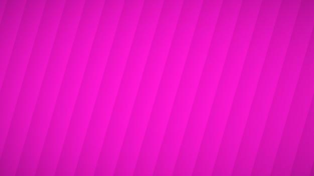 Fundo abstrato de listras curvas onduladas com sombras em cores rosa